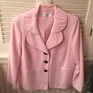 Jones New York Studio Separates pink blazer